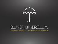 Black umbrella coffee & cocktail lounge Logo - Entry #193