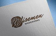 Wisemen Woodworks Logo - Entry #217