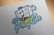 Potty On Luxury Toilet Rentals Logo - Entry #71
