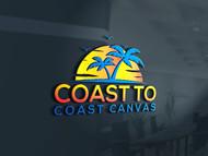 coast to coast canvas Logo - Entry #35
