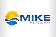 Mike the Poolman  Logo - Entry #49