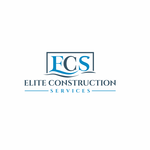 Elite Construction Services or ECS Logo - Entry #355