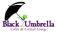 Black umbrella coffee & cocktail lounge Logo - Entry #43