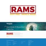Rams Duty Free + Smoke & Booze Logo - Entry #264