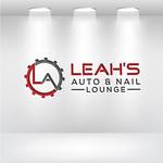 Leah's auto & nail lounge Logo - Entry #103