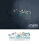Two Brothers Roadhouse Logo - Entry #176