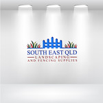 South East Qld Landscaping and Fencing Supplies Logo - Entry #86