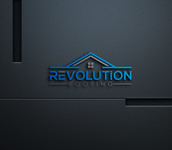 Revolution Roofing Logo - Entry #125