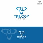 TRILOGY HOMES Logo - Entry #128