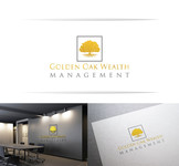 Golden Oak Wealth Management Logo - Entry #154