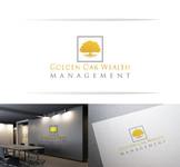 Golden Oak Wealth Management Logo - Entry #154