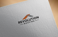 Revolution Roofing Logo - Entry #585