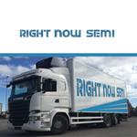 Right Now Semi Logo - Entry #140