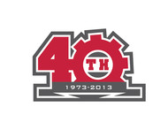 40th  1973  2013  OR  Since 1973  40th   OR  40th anniversary  OR  Est. 1973 Logo - Entry #40