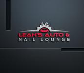 Leah's auto & nail lounge Logo - Entry #135