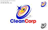 B2B Cleaning Janitorial services Logo - Entry #117