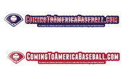 ComingToAmericaBaseball.com Logo - Entry #25