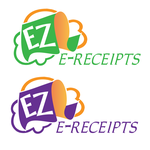ez e-receipts Logo - Entry #66