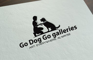 Go Dog Go galleries Logo - Entry #79