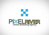 Pixel River Logo - Online Marketing Agency - Entry #105
