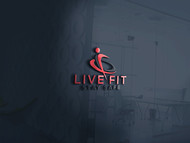 Live Fit Stay Safe Logo - Entry #288