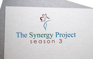 """The Synergy Project"" and place the word ""season three"" underneath in smaller front either as "" season 3"" or ""season three"" Logo - Entry #99"