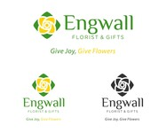 Engwall Florist & Gifts Logo - Entry #196