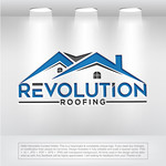 Revolution Roofing Logo - Entry #292