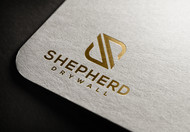 Shepherd Drywall Logo - Entry #342