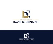 Law Offices of David R. Monarch Logo - Entry #136