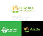 Lilac Hill Greenhouse Logo - Entry #69