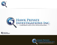 Hawk Private Investigations, Inc. Logo - Entry #45