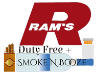 Rams Duty Free + Smoke & Booze Logo - Entry #290
