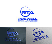 Roswell Tire & Appliance Logo - Entry #154