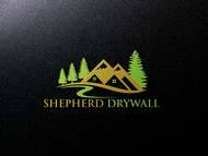 Shepherd Drywall Logo - Entry #366