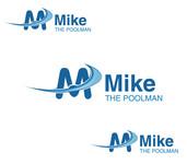 Mike the Poolman  Logo - Entry #154