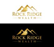 Rock Ridge Wealth Logo - Entry #414