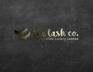 the lash co. Logo - Entry #116