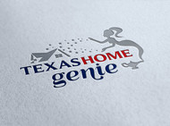 Texas Home Genie Logo - Entry #69