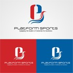 "Platform Sports "" Equipping the leaders of tomorrow for Greatness."" Logo - Entry #14"