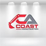 CA Coast Construction Logo - Entry #141