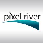 Pixel River Logo - Online Marketing Agency - Entry #9
