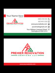 Premier Renovation Services LLC Logo - Entry #164