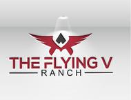 The Flying V Ranch Logo - Entry #92