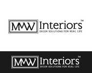 MvW Interiors Logo - Entry #80