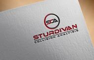 Sturdivan Collision Analyisis.  SCA Logo - Entry #86