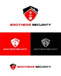 Brothers Security Logo - Entry #238
