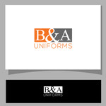 B&A Uniforms Logo - Entry #64