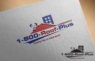 1-800-Roof-Plus Logo - Entry #139