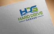 Hard drive garage Logo - Entry #150